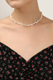 storets.com Multi Pearl Embellished Necklace