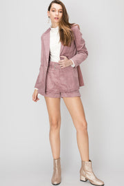 Kathy Blush Corduroy Jacket