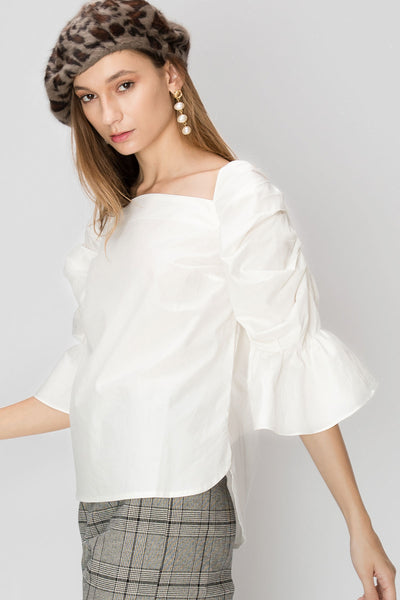 Dorothy Square Neck Blouse