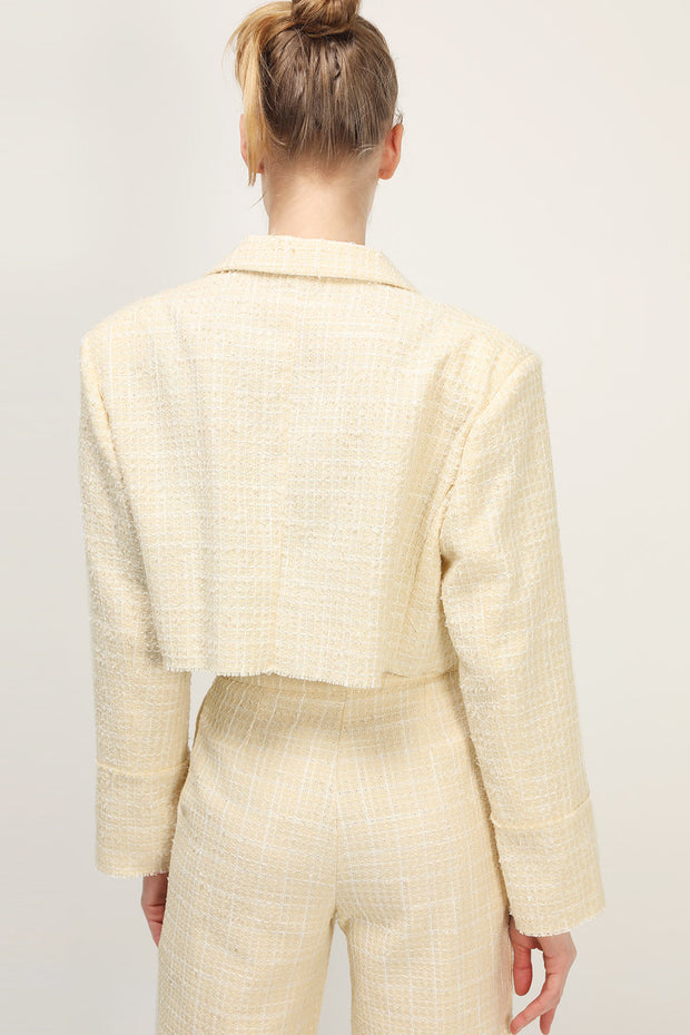 storets.com Ella Tweed Cropped Jacket