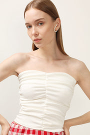 storets.com Zoey Ruched Tube Top