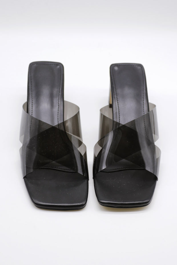 Cross Strap Mules