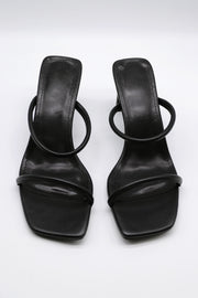 storets.com Two-Strap Square Toe Heels