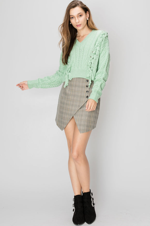 Sabrina Plaid Skirt-2 Colors