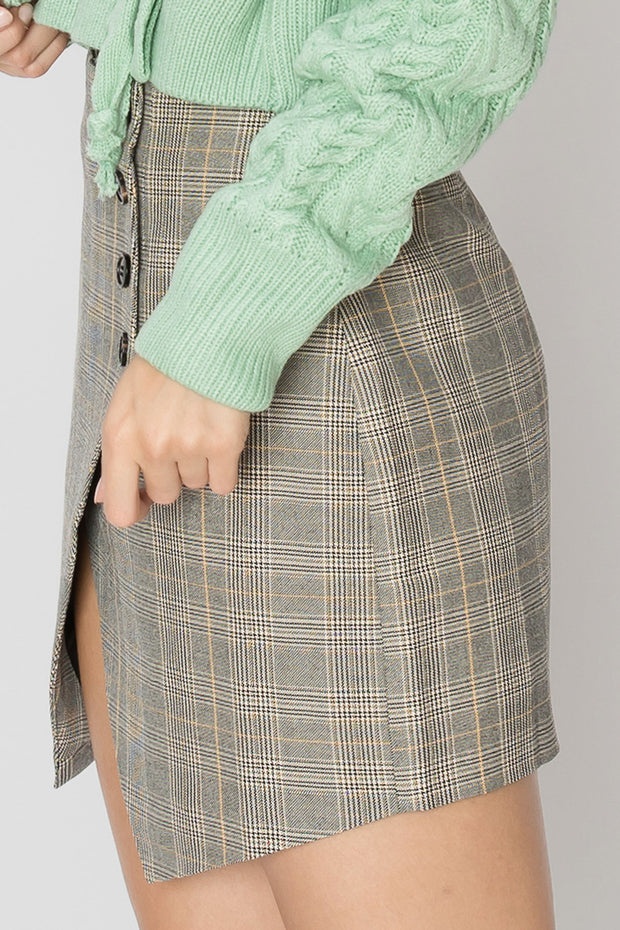 storets.com Sabrina Plaid Skirt-2 Colors