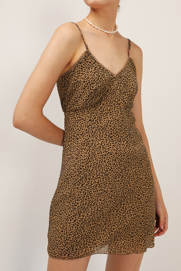 Roselyn Leopard Cami Dress