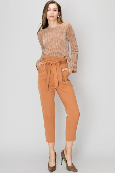 Mariam Paperbag Pants-2 Colors