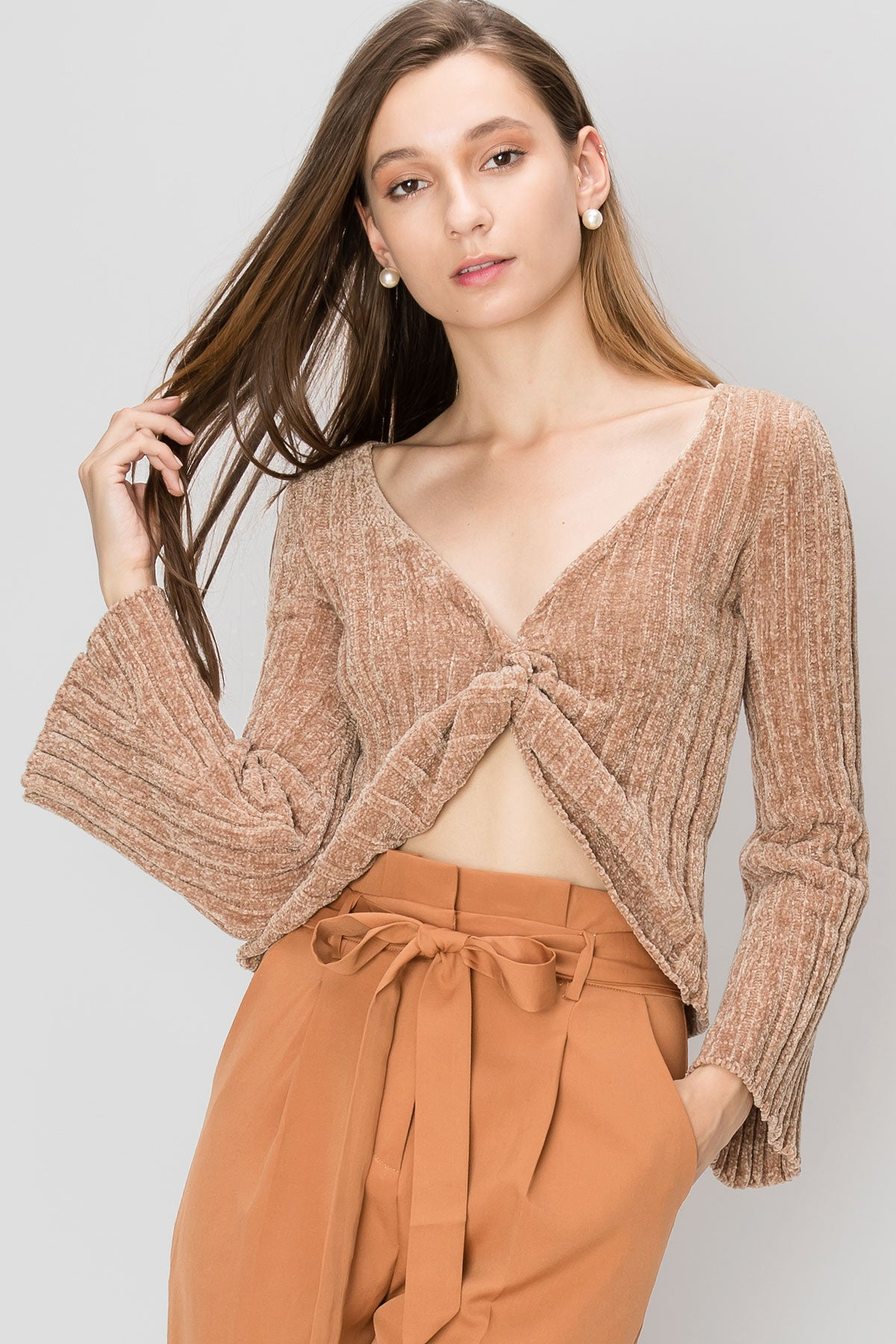 Sabrina Twisted Sweater-2 Colors