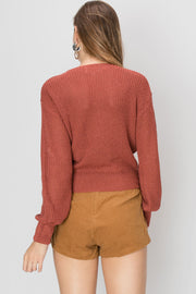 Misha Tied Up Sweater-2 Colors