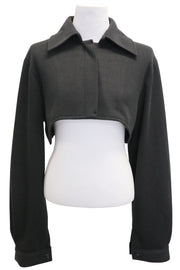 Ella Supper Crpped Knit Shirt