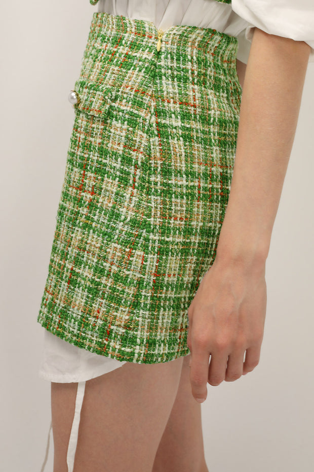 Ellie Tweed Skirt