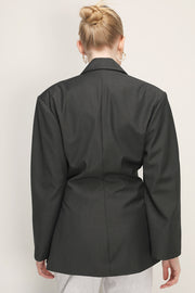 storets.com Madison Oversized Structured Jacket