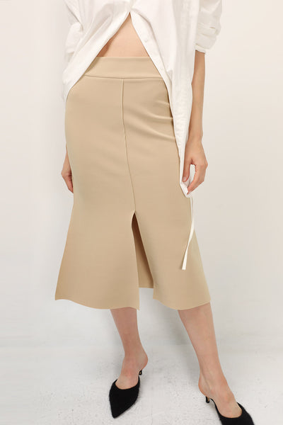 Sylvia Slit Mermaid Skirt