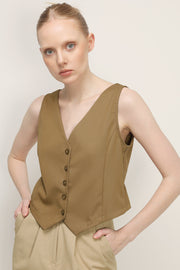 Reese Buttoned Vest