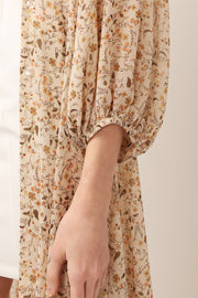 Harper Floral Robe Dress