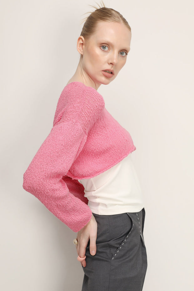 Brynn Textured Crop Top