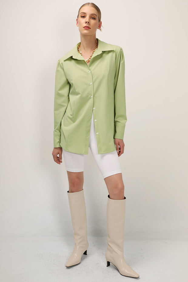 storets.com Lucy Padded Pintuck Blouse