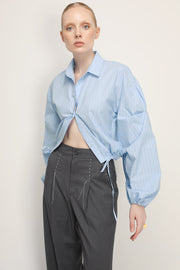 storets.com Phoenix Structured Cropped Shirt