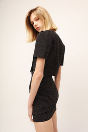 Hazel Square Neck Crop Top