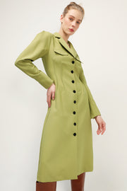 storets.com Mia Buttoned Maxi Jacket Dress
