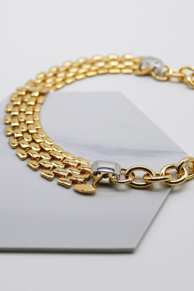 storets.com Bold Chain Choker Necklace