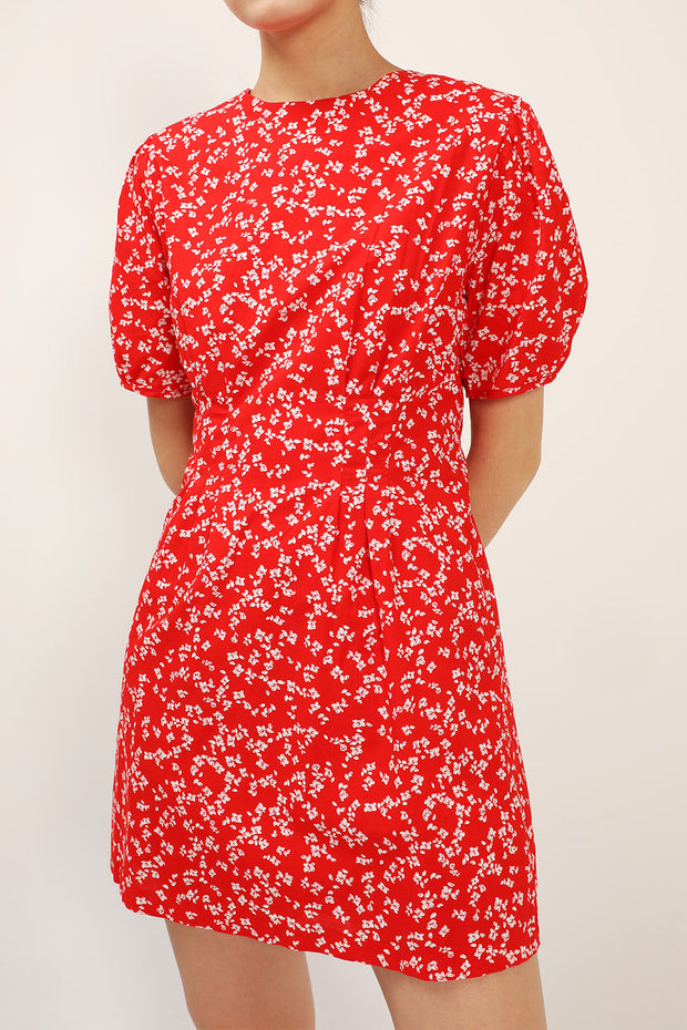 storets.com Allison Floral Pintuck Dress