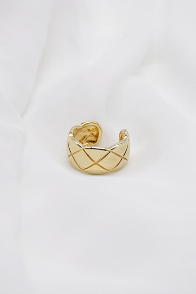storets.com Quilted Statement Ring
