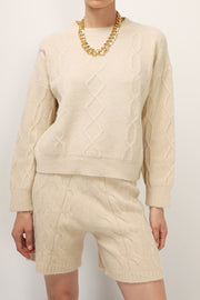 storets.com Camila Cable Knit 2-Piece Set