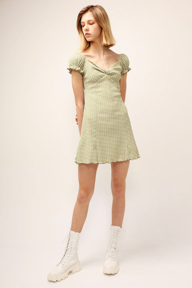 storets.com Charlotte Checked Dress