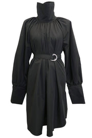 storets.com Charlotte Satin Belted Dress