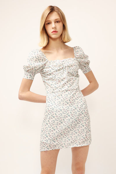 Sophia Floral Ruched Dress