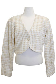 storets.com Gracelyn Puffed Tweed Jacket