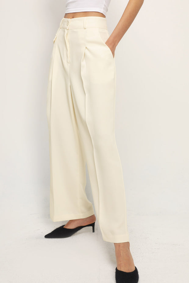 storets.com Kiara Single Pocket Wide Leg Pants