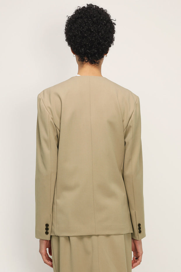 storets.com Adalyn Collarless Jacket