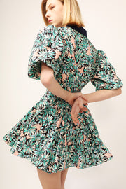 Olivia Floral Belted Dress