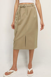 storets.com Adalyn Belted Midi Skirt