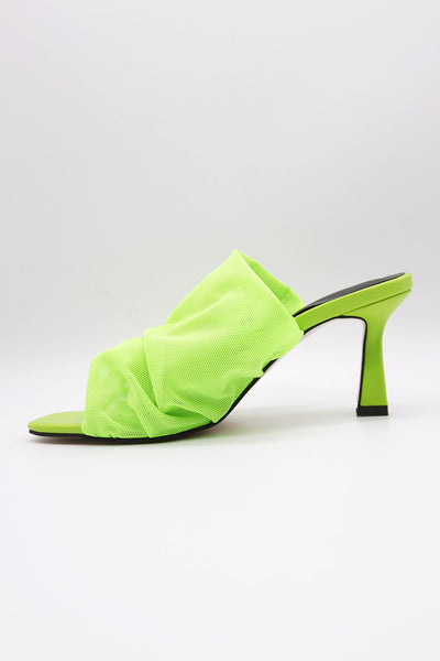 storets.com Square Toe Shirring Pumps