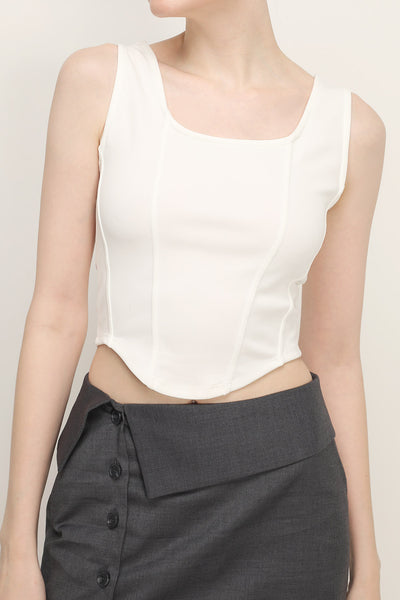 Adelyn Cropped Tank Top