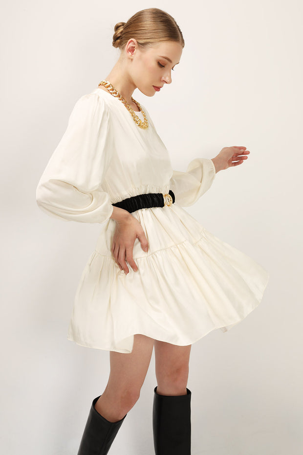 storets.com Elle Tiered Ruffle Dress