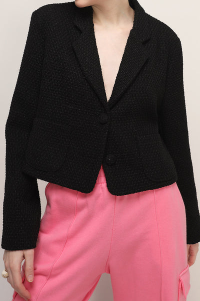 storets.com Myla Cropped Tweed Jacket