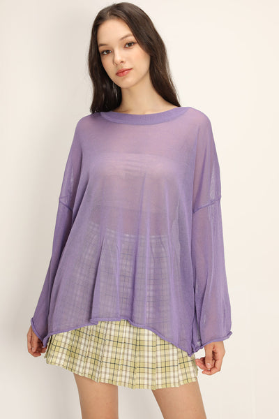storets.com Paola See-thru Knitted Top