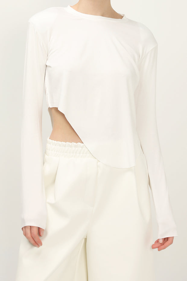 storets.com Gracie Asymmetric Hem Top