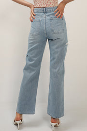 Norah Slash Side Jeans