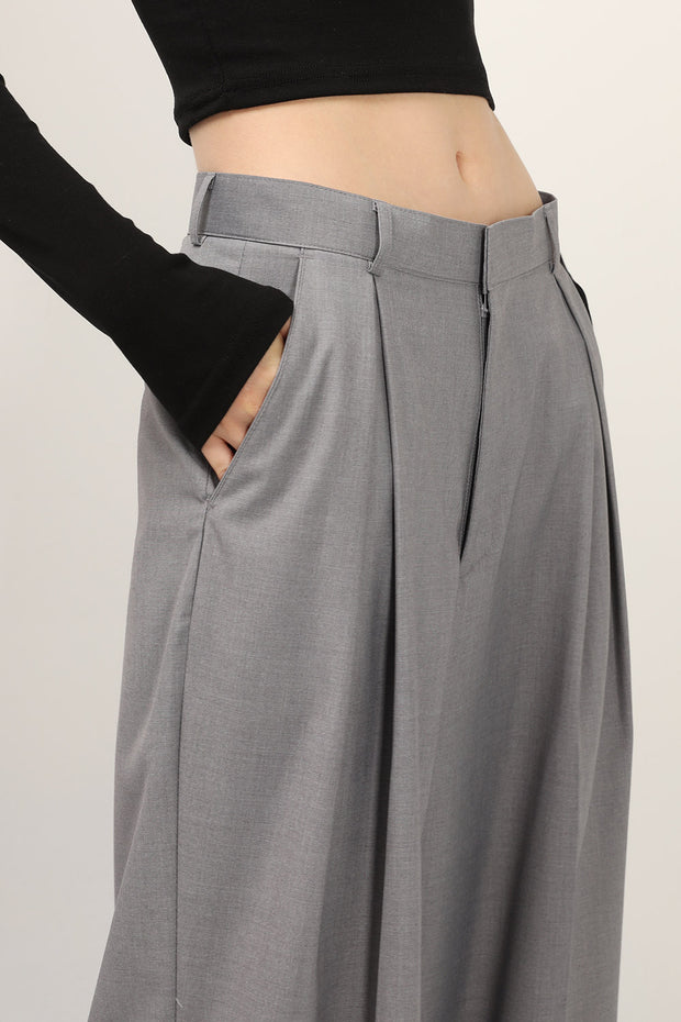 Greta Pintuck Wide Leg Pants