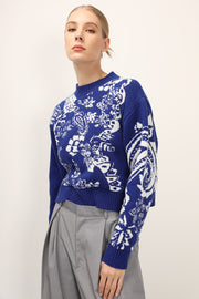 storets.com Sierra Floral Printed Knit Top
