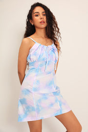 storets.com Margaret Tie Dye Ruched Dress