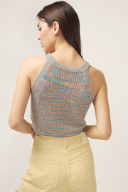storets.com Liberty Knitted Halter Neck Top
