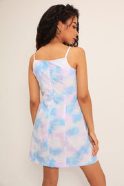 Margaret Tie Dye Ruched Dress
