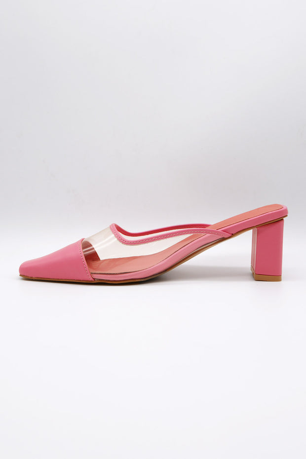 storets.com Clear Pointed Toe Mules