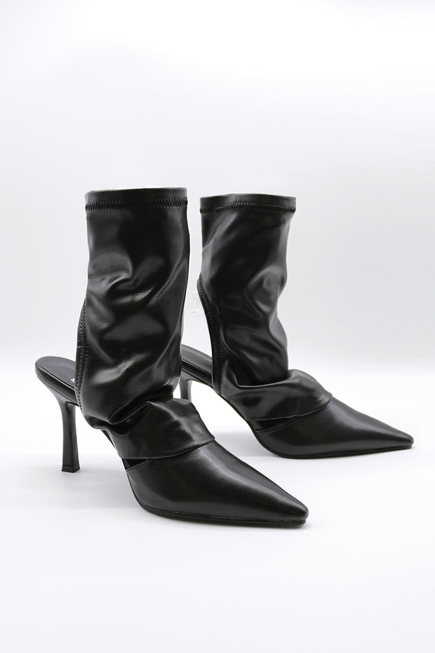 storets.com Open Back Heeled Boots